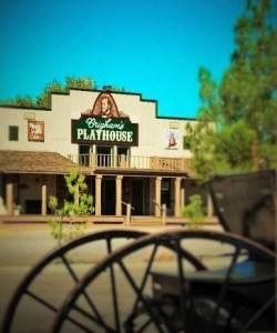 Brigham's Playhouse building