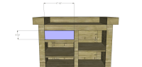 Free DIY Furniture Plans to Build a Rustic Ultimate Bar ...