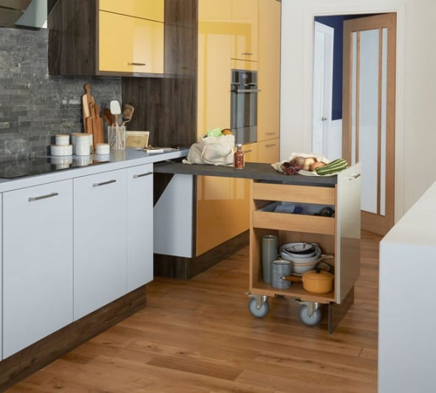 Space Saving Kitchen Ideas from Magnet