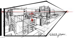 GinzaJapantheDesignSketchbookhorizonlineperspective.png
