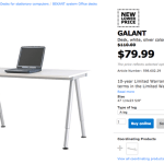 The furniture I get at Ikea to install the Wacom Cintiq 22HD