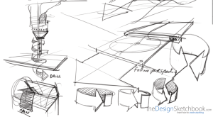 Sketching product feature