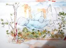 giantfloatingbabysingaporemarinabaysandsthedesignsketchbookwatercolourv.jpg