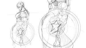 theDesignSketchbook - Captain-America-Shield feature