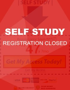 self study closed END