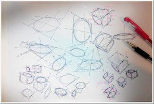 Pen-signo-Mitsubishi-the-design-sketchbook-test-ellipse-perspective-cube.jpg