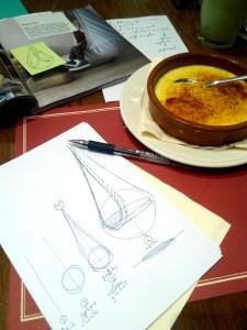 Cafe Paul ID sketching Ikea