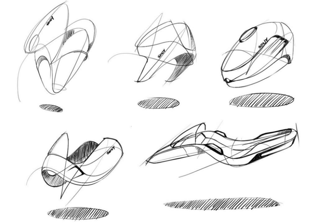 Hunag Li Chung - Sketch like the Pros - The Design Sketchbook - Training a