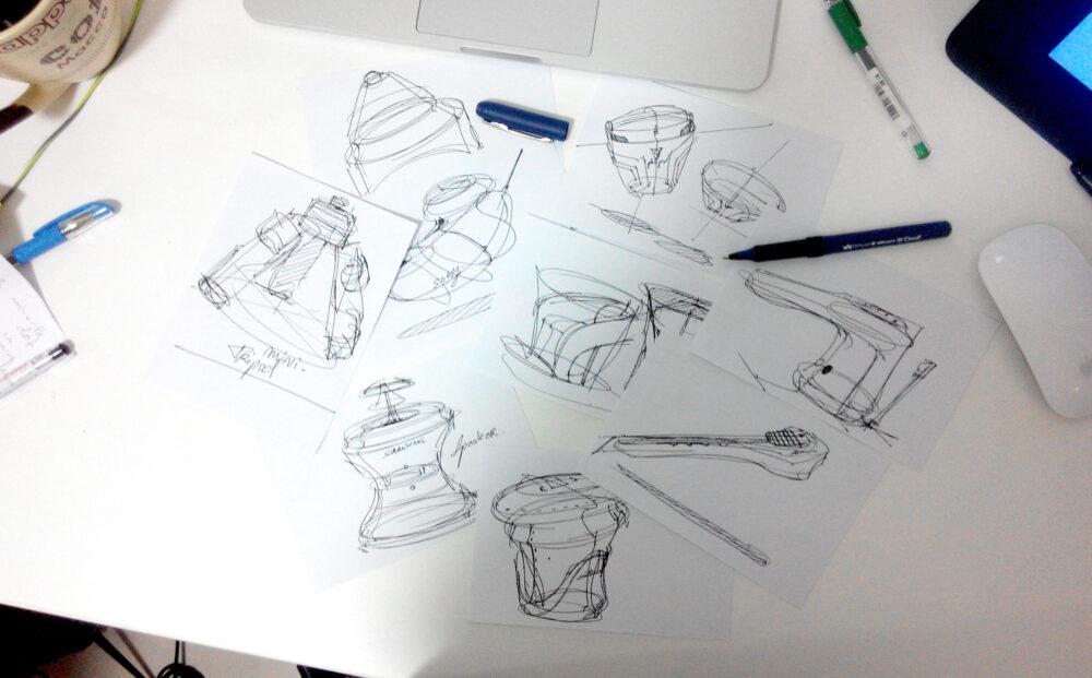 1 minute challenge design sketching the design sketchbook a