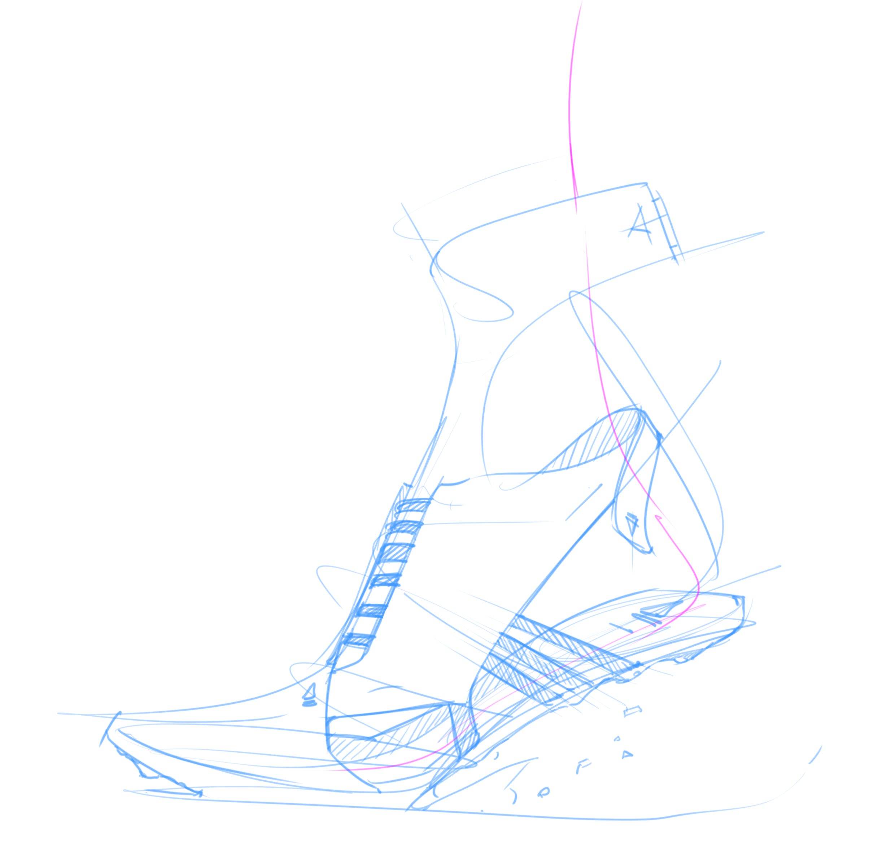 SNEAKER ADIDAS Sketch The Design Sketchbook