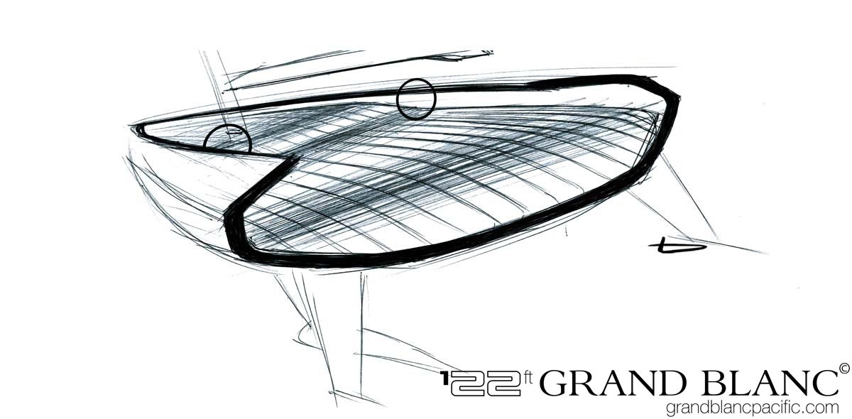 Benjamin Goudout - Transport Designer - Grand Blanc sketch