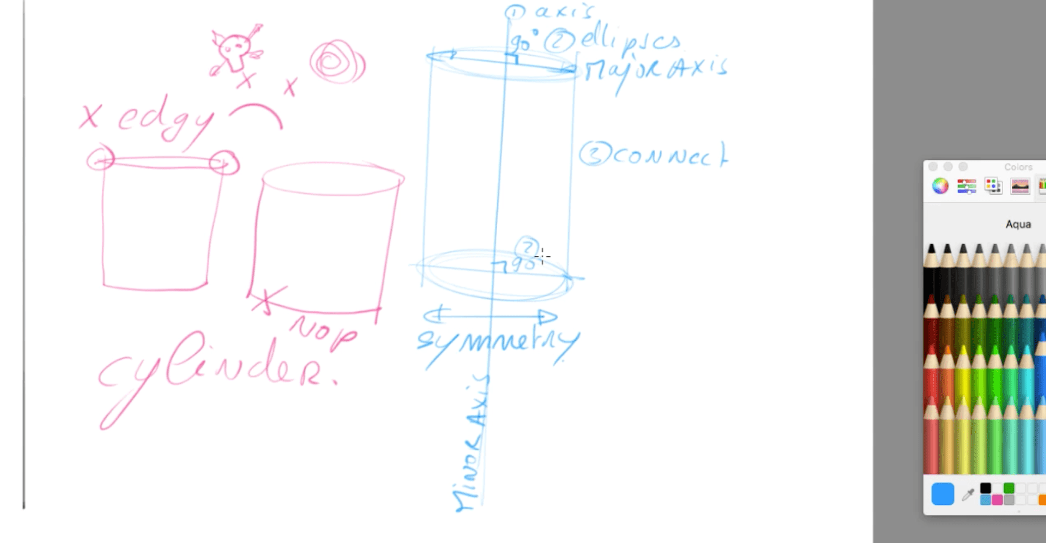 How to draw basic 3d volumes - cone - cube - cylinder - the design sketchbook - f