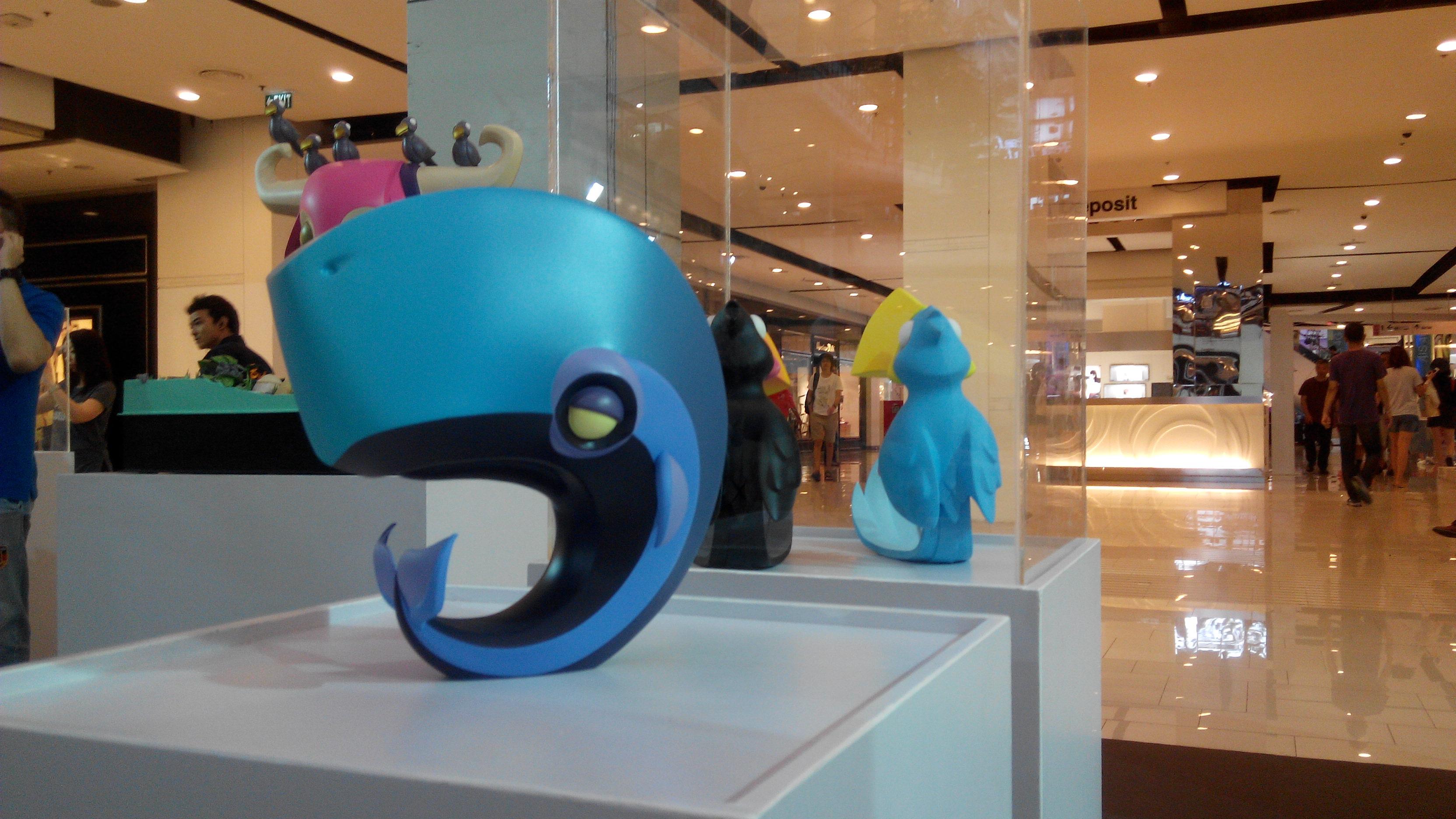 Coarse Toy Sculpture Whale ToyExpo Bangkok.jpg.jpg