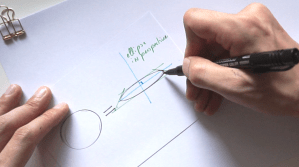 How to draw a coin The 1 miute tutorial-Industrial Design sketching-Blog c