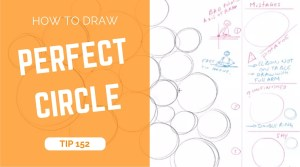 TIP 152 How to draw perfect circle - the design sketchbook - product and industrial design sketching