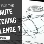 Ready to play at the 1 Minute Sketching Challenge?