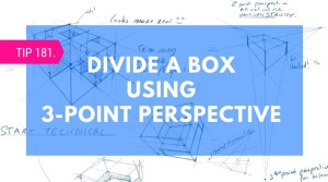 Tip 181 3 point Perspective box divide