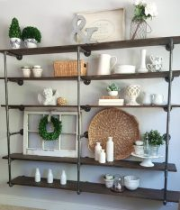 DIY industrial pipe shelves | Step by step tutorial on ...