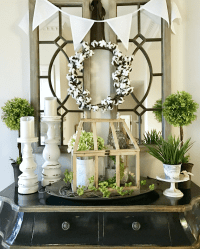 Front Entryway Decorating Ideas - The Design Twins | DIY ...