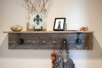 Wood Work Building A Coat Rack With Shelf PDF Plans