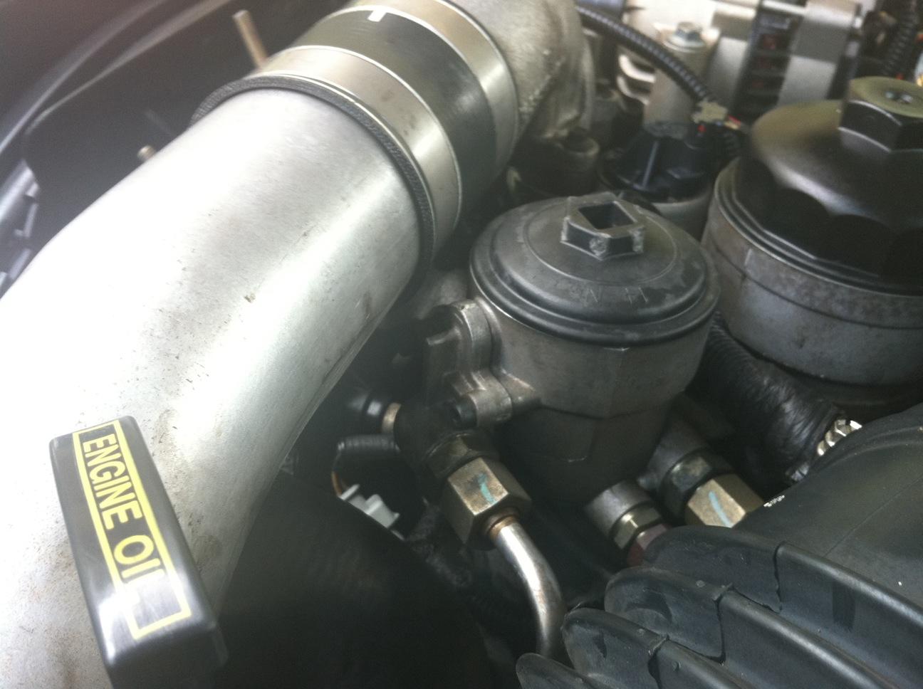 2010 f250 diesel fuel filter housing