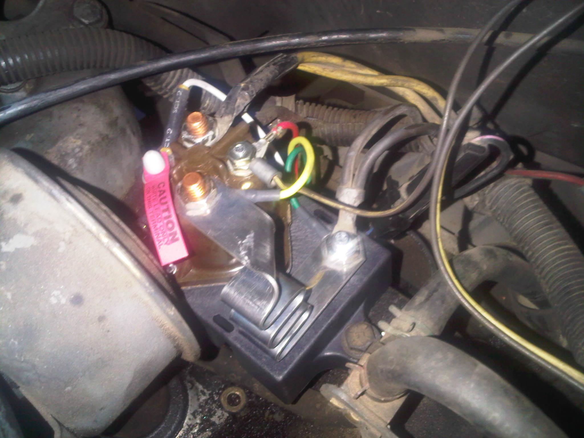 Ford 3 Post Solenoid Wiring Diagram Help Glow Plug Relay Wiring Diesel Forum