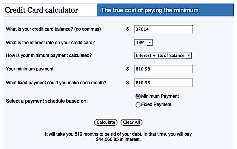loan calculator credit card - My Mortgage Home Loan