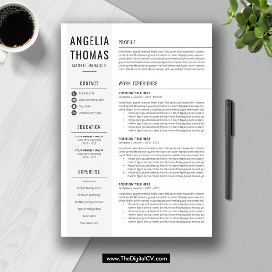 2019-2020 Resume / CV Templates, Cover Letter, Resume Editing Guide