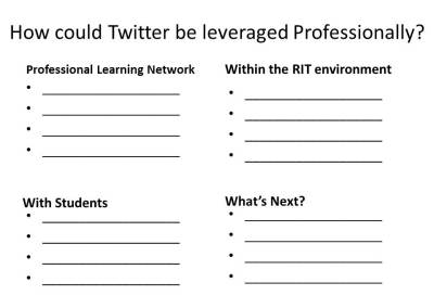 PD questions to ask about Twitter
