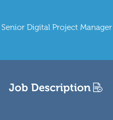 AGENCY Senior Digital Project Manager Job Description Template.fw