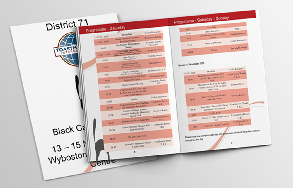 Toastmasters Black Cat Conference - The Digital Studios
