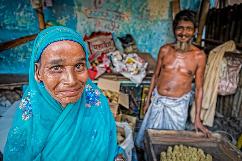 This Bengali lady pleaded with me to take her photo. How could I say no?