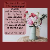 Proverbs 9:10-11 NASB