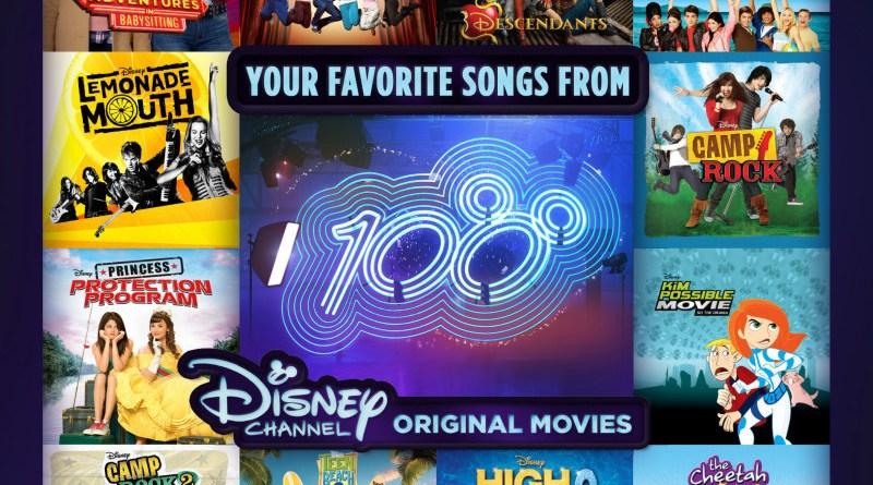 Disney Channel Celebrates 100th Movie with New Album