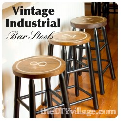 Small Of Industrial Bar Stools