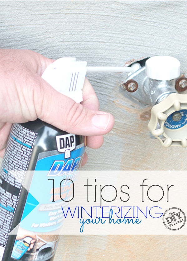 10 Tips for Winterizing Your Home - The DIY Village