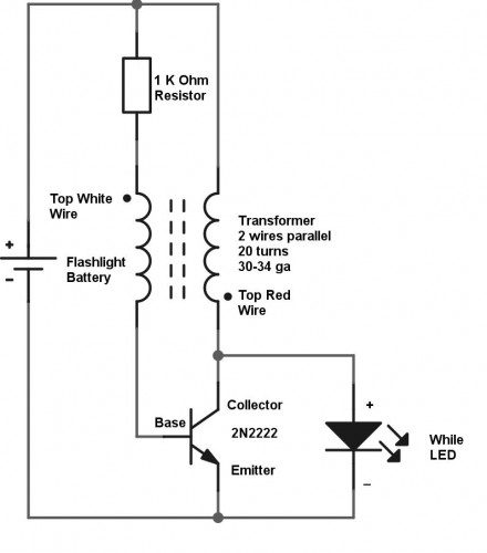 Wiring A Flashlight Diagram - Wiring Diagram Onlina