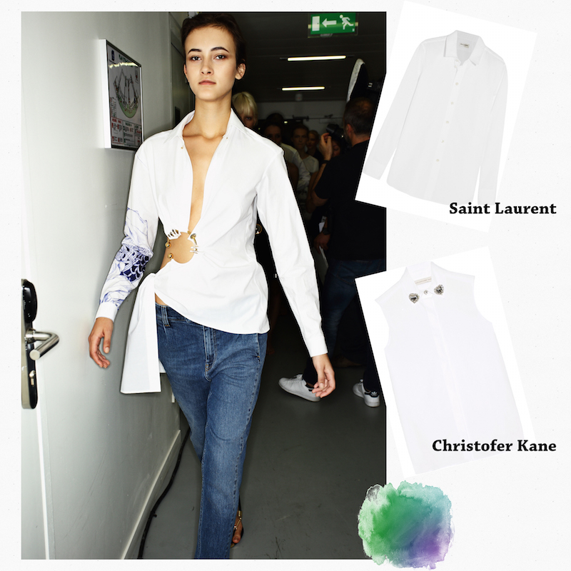 Trends spring summer white shirt the dolls factory
