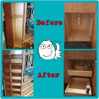 Roll Out Drawers for Cabinets - Cupboard Converters