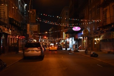 Good night, Mulberry Street! Good night, Little Italy (photo by David)!
