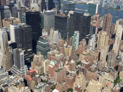 The smaller skyscrapers!