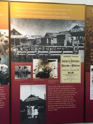 First landing of Filipinos in America - in Morro Bay, Calif.