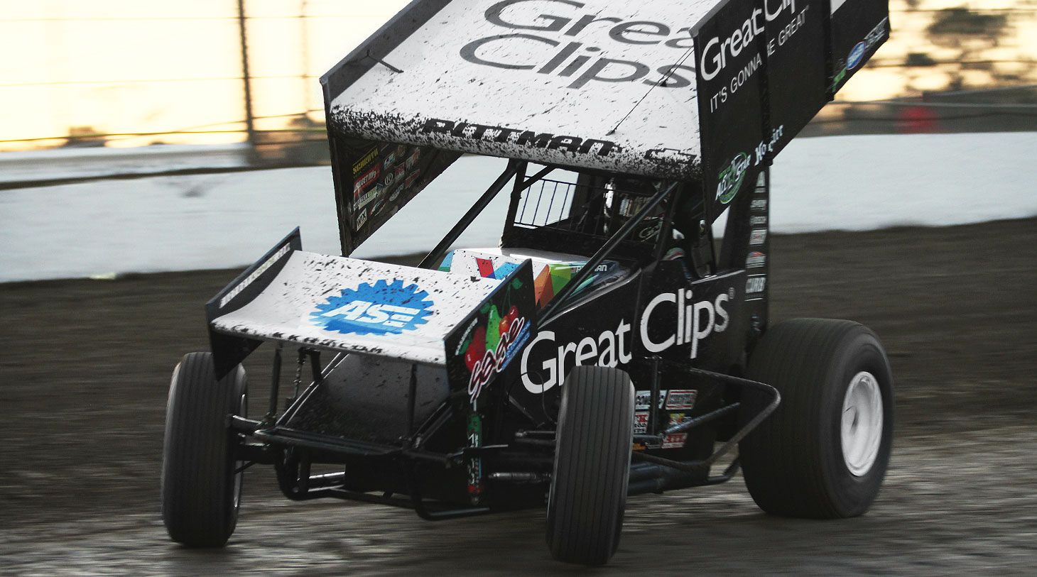 Daryn Pittman at Volusia in 2016 | Photography: Jeffrey Turford