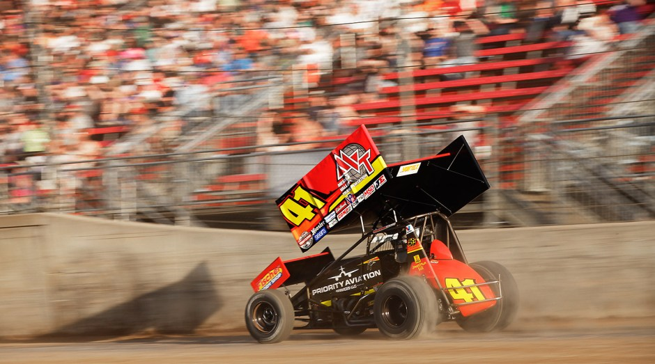 Jason Johnson has 4 career World of Outlaws feature wins and 78 ASCS National Tour Wins