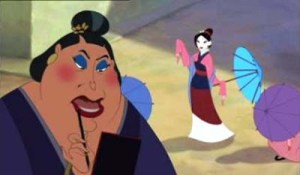 """Fa Mulan!"" From Disney's Mulan (Picture grabbed from Sweet Things on Earth"