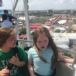 Riding the feris wheel