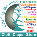 Kissed by the Moon Cloth Diapers