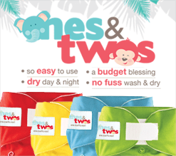 ones&twos cloth diaper