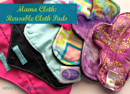 Mama Cloth Reusable Cloth Pads @TheEcoChic