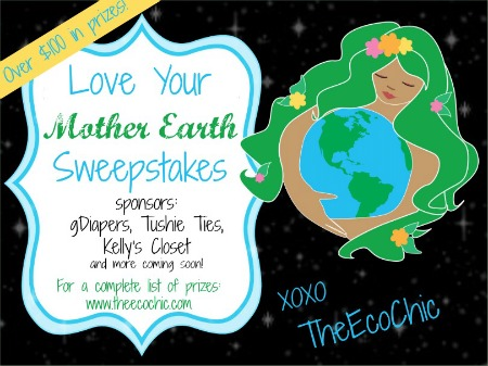 Love Your Mother Earth Sweepstakes @TheEcoChic
